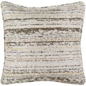 Surya Arie 20 x 20 x 4 Polyester Throw Pillow - Item Number: AE001-2020