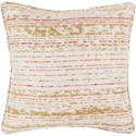 Surya Arie 20 x 20 x 4 Polyester Throw Pillow - Item Number: AE002-2020