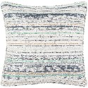 Surya Arie 20 x 20 x 4 Polyester Throw Pillow - Item Number: AE003-2020