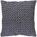 Surya Ashlar 22 x 22 x 5 Down Throw Pillow - Item Number: ALR002-2222D