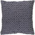 Surya Ashlar 22 x 22 x 5 Polyester Throw Pillow - Item Number: ALR002-2222P