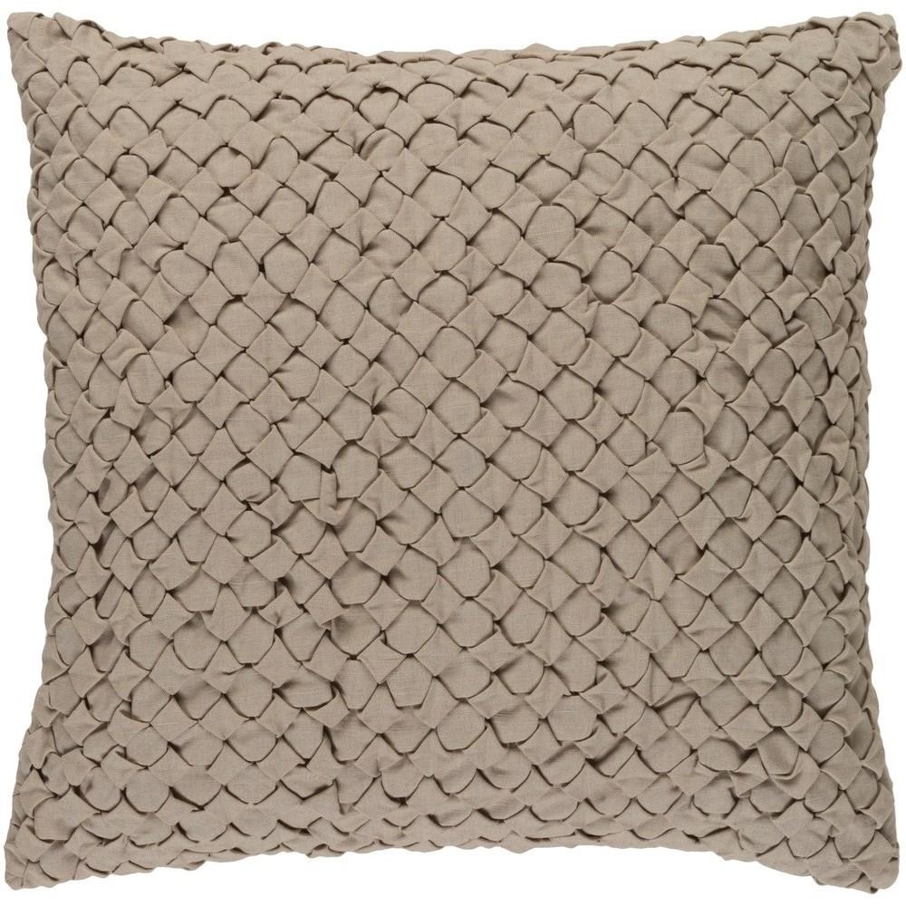 Ashlar 18 x 18 x 4 Down Throw Pillow by 9596 at Becker Furniture