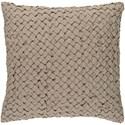 Surya Ashlar 18 x 18 x 4 Down Throw Pillow - Item Number: ALR003-1818D