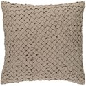 Surya Ashlar 22 x 22 x 5 Polyester Throw Pillow - Item Number: ALR003-2222P