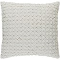 Surya Ashlar 20 x 20 x 4 Down Throw Pillow - Item Number: ALR004-2020D