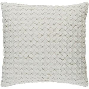 Surya Ashlar 22 x 22 x 5 Polyester Throw Pillow