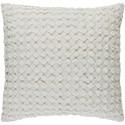Surya Ashlar 22 x 22 x 5 Polyester Throw Pillow - Item Number: ALR004-2222P