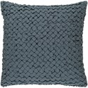 Surya Ashlar 20 x 20 x 4 Down Throw Pillow - Item Number: ALR005-2020D