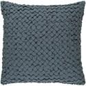 Surya Ashlar 22 x 22 x 5 Down Throw Pillow - Item Number: ALR005-2222D