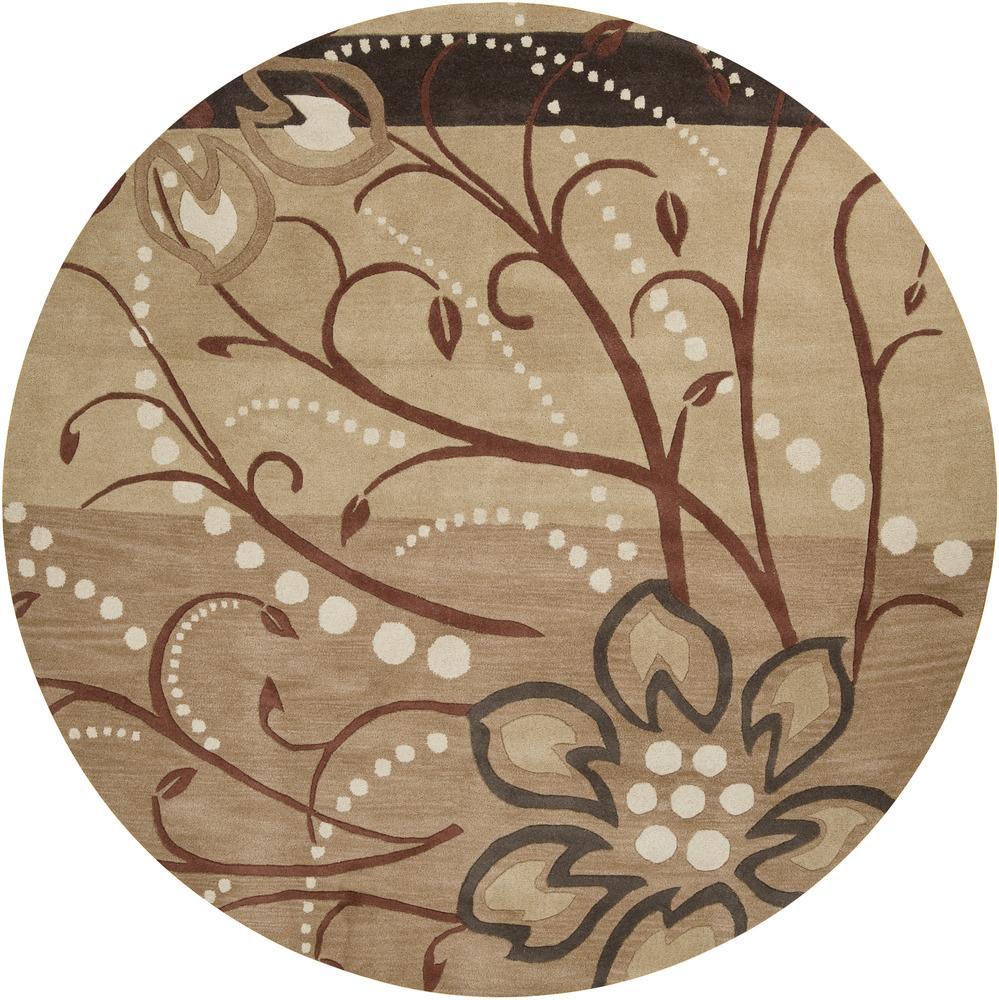 Surya Athena 8' Round - Item Number: ATH5006-8RD