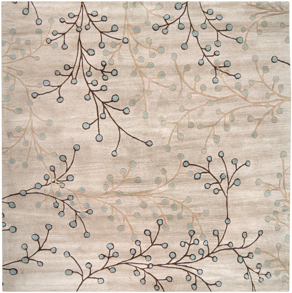 Surya Athena 6' Square - Item Number: ATH5008-6SQ