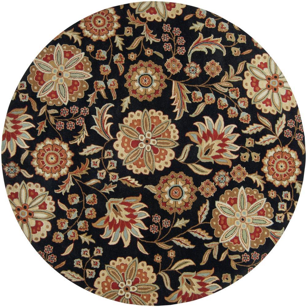 Surya Rugs Athena 8' Round - Item Number: ATH5017-8RD