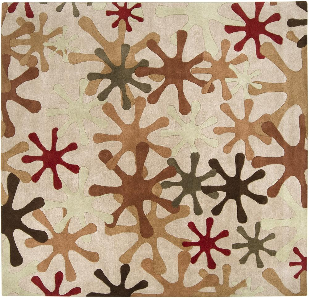 Surya Rugs Athena 6' Square - Item Number: ATH5019-6SQ