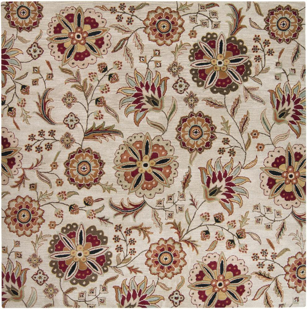 Surya Athena 4' Square - Item Number: ATH5035-4SQ