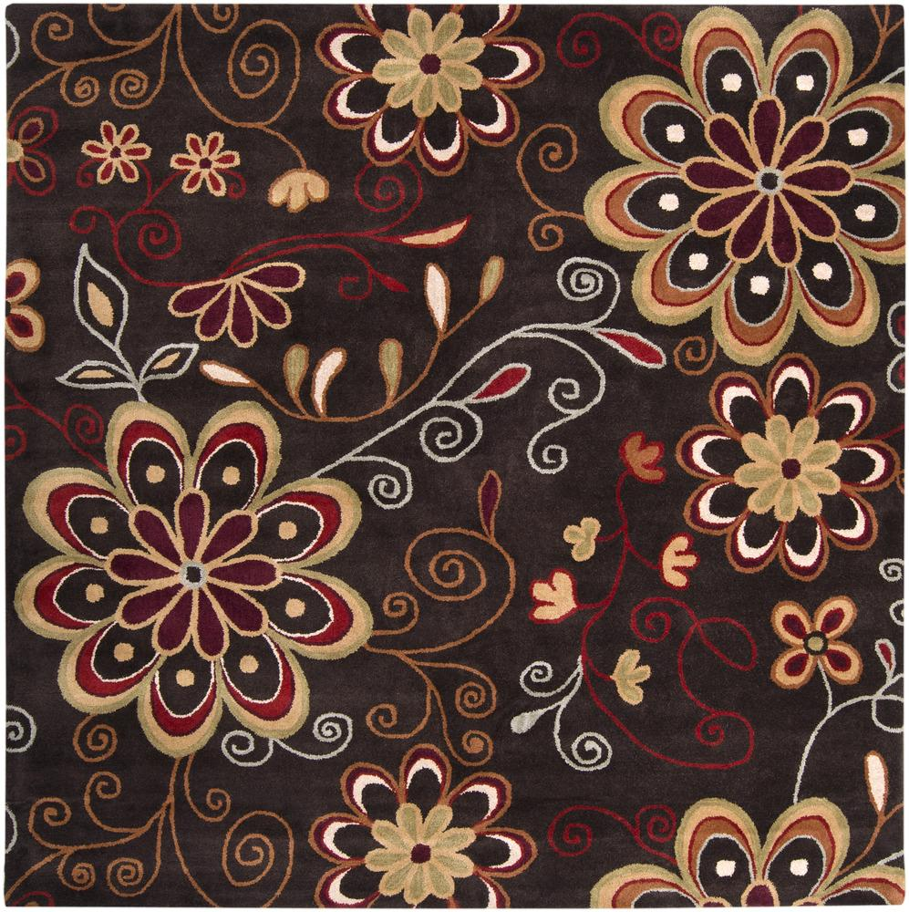 Surya Rugs Athena 4' Square - Item Number: ATH5037-4SQ