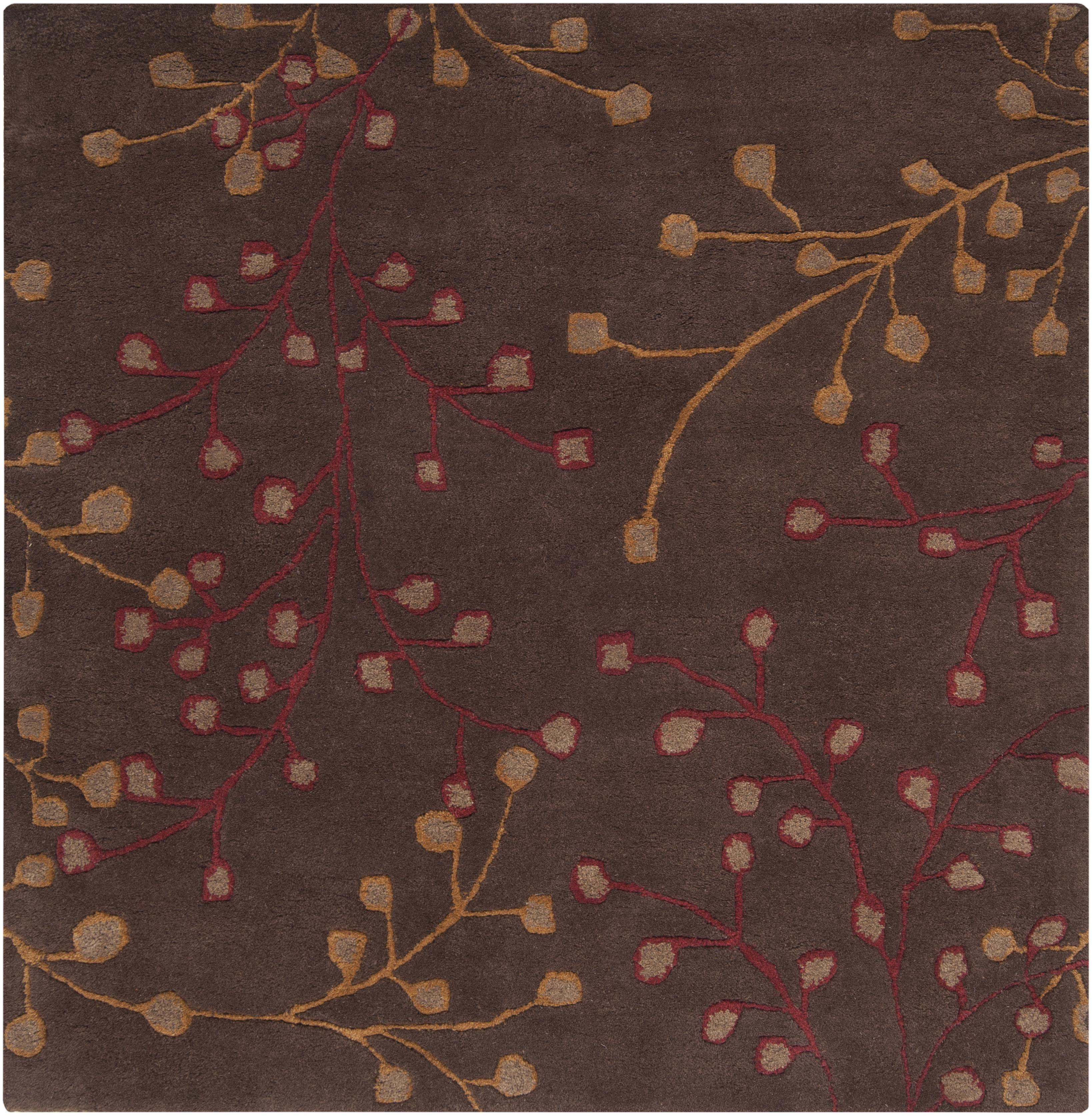 "Surya Rugs Athena 9'9"" Square - Item Number: ATH5052-99SQ"