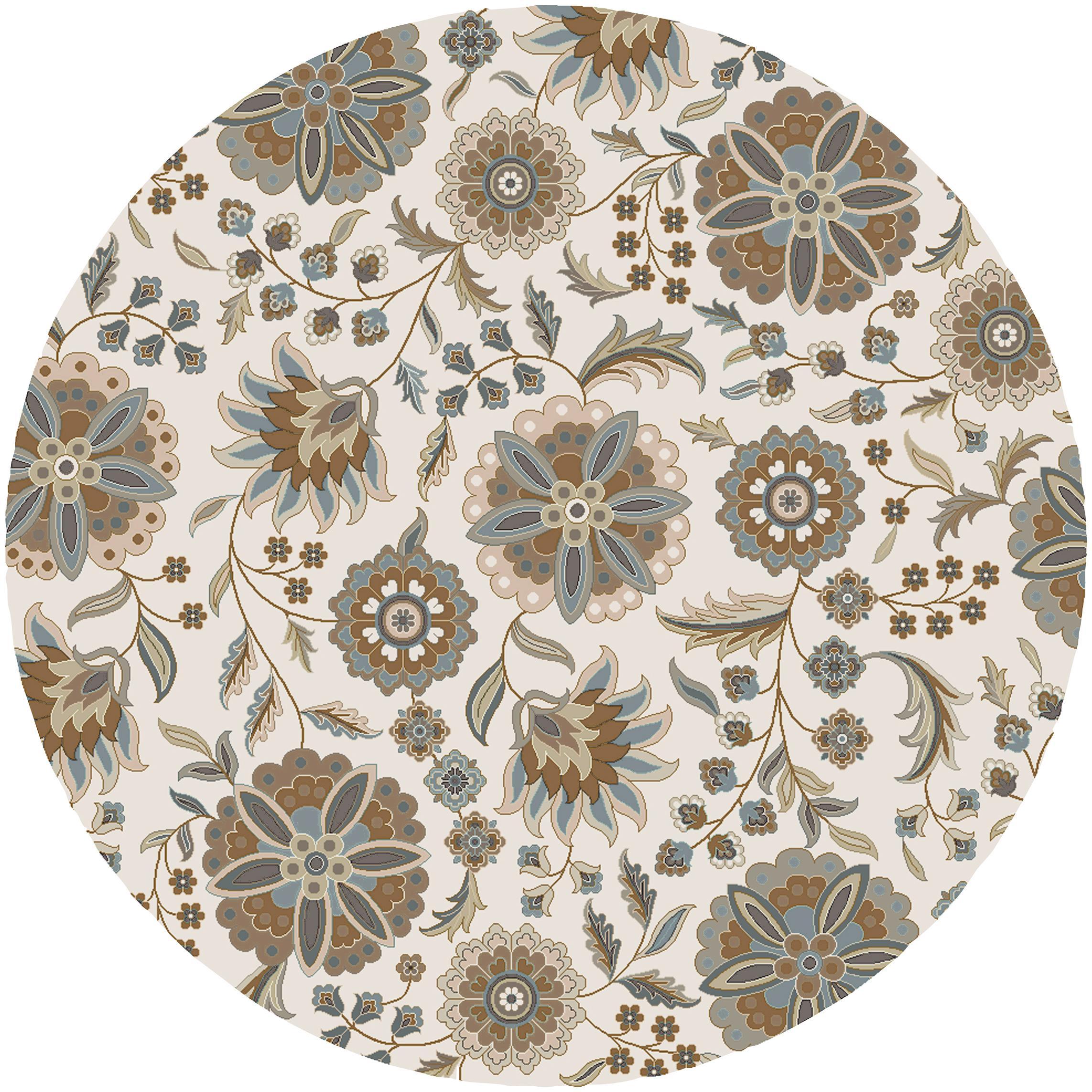Surya Athena 6' Round - Item Number: ATH5063-6RD