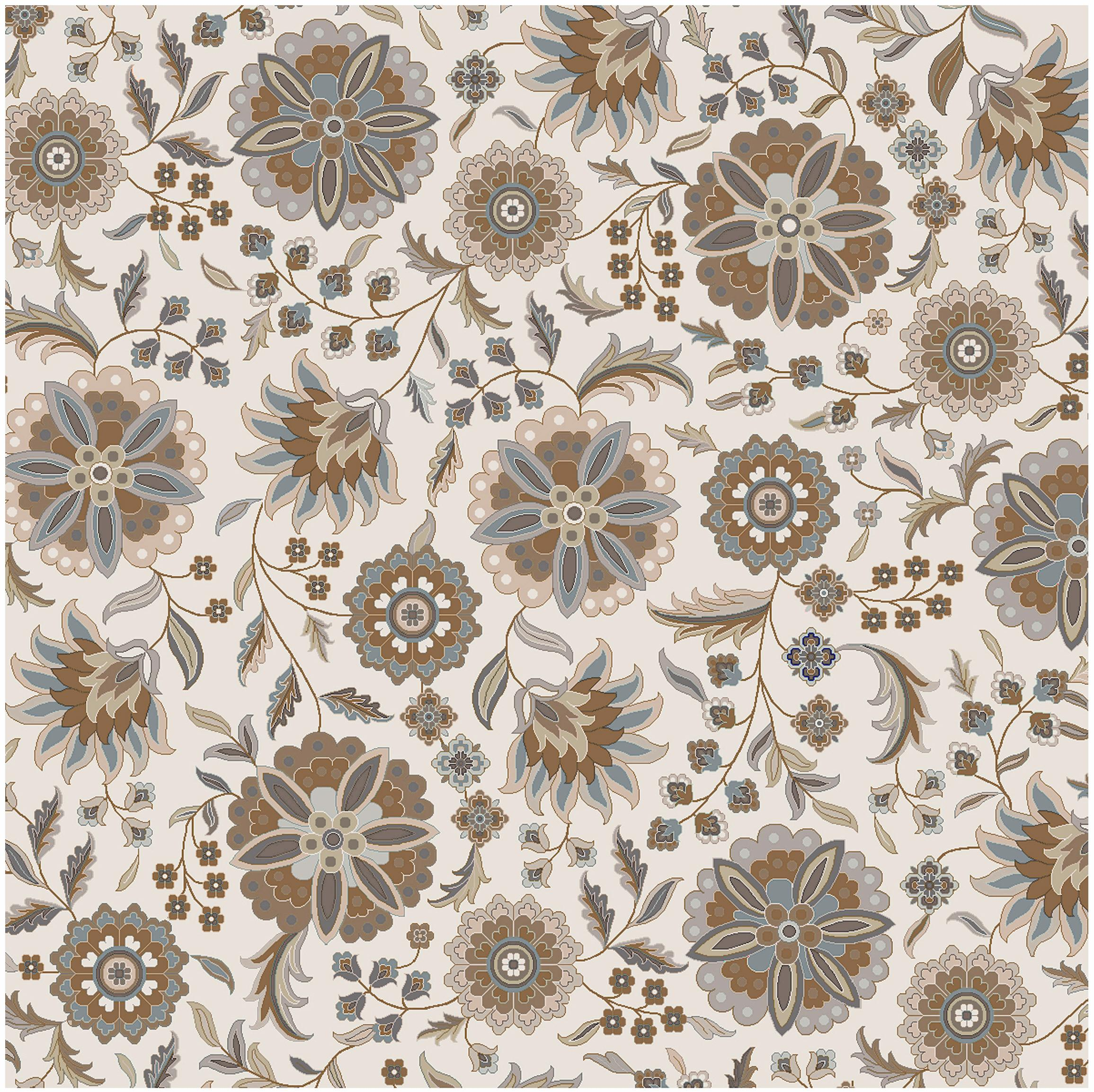 Surya Athena 8' Square - Item Number: ATH5063-8SQ