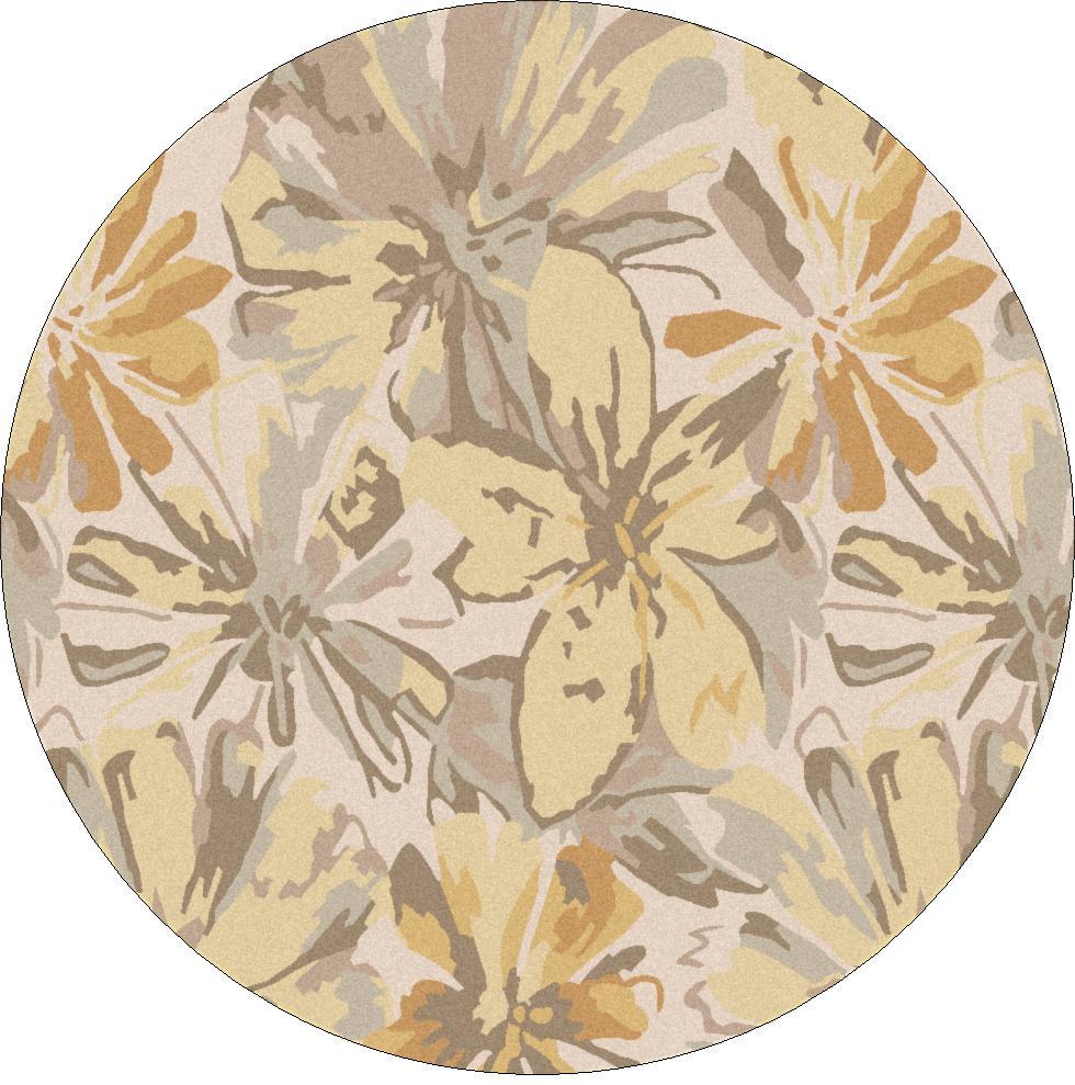 Surya Athena 6' Round - Item Number: ATH5071-6RD