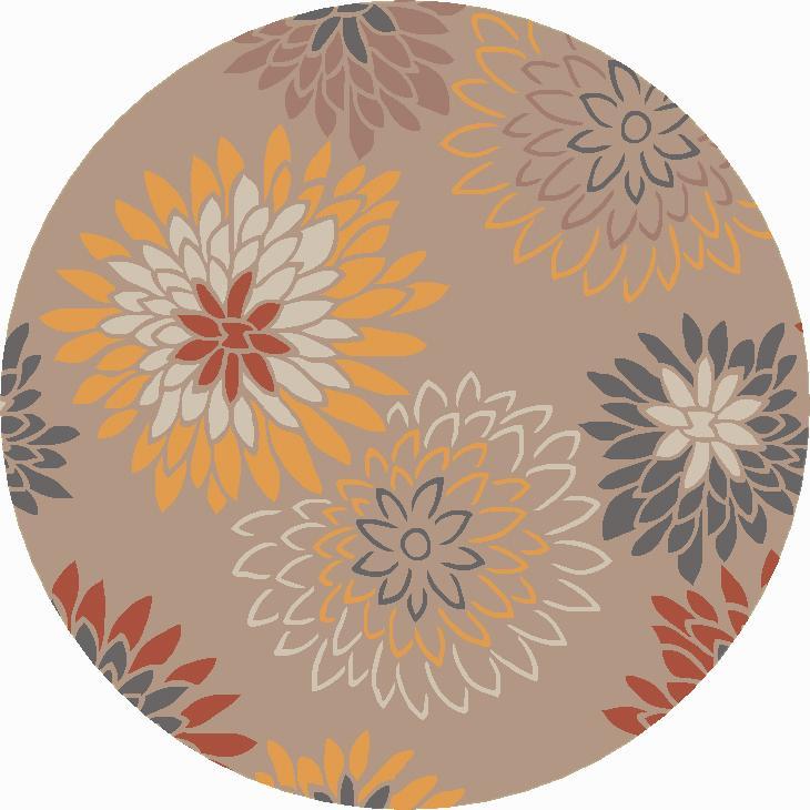 Surya Athena 4' Round - Item Number: ATH5106-4RD