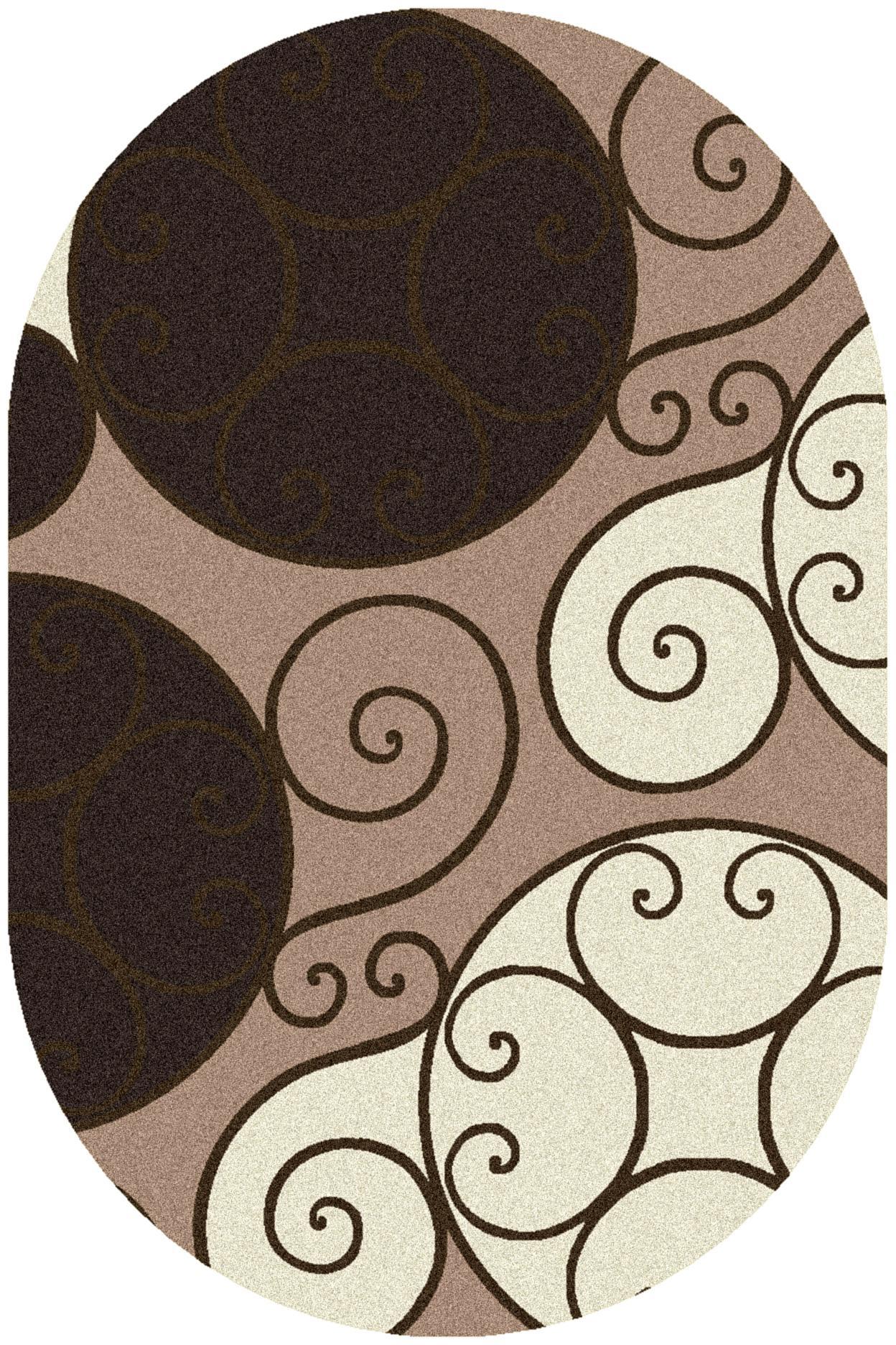 Surya Rugs Athena 6' x 9' Oval - Item Number: ATH5111-69OV