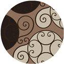 Surya Rugs Athena 8' Round - Item Number: ATH5111-8RD