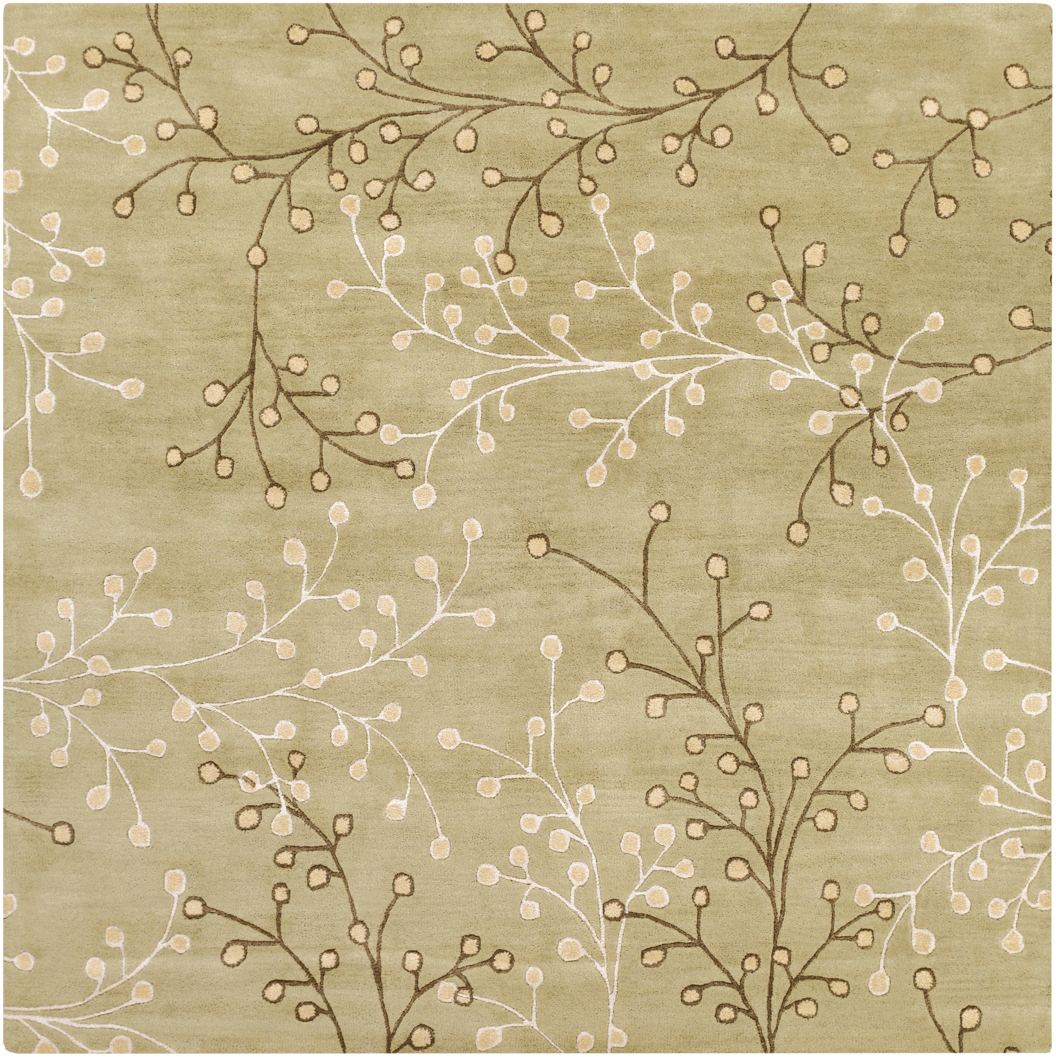 Surya Athena 6' Square - Item Number: ATH5113-6SQ
