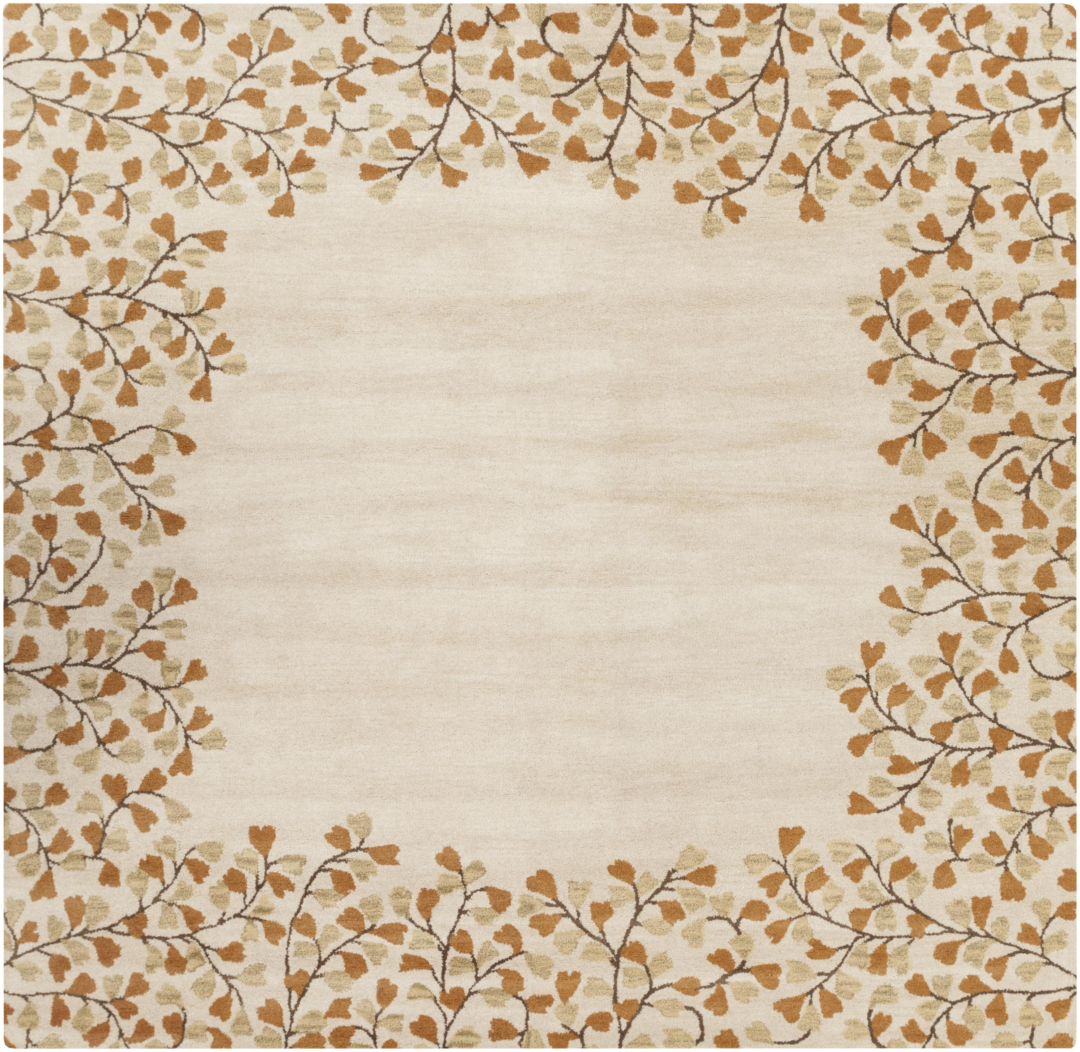 Surya Athena 6' Square - Item Number: ATH5118-6SQ