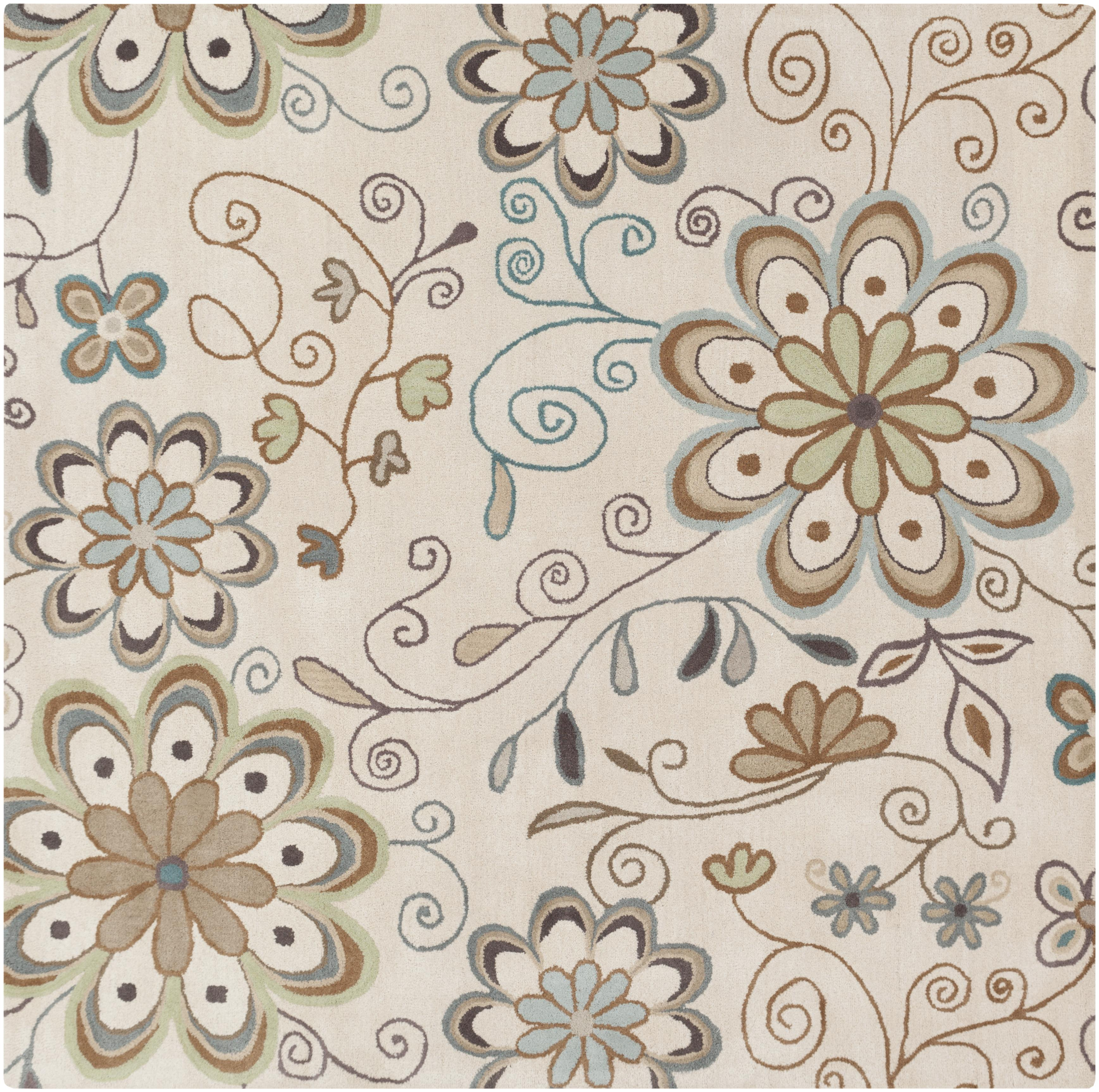 Surya Athena 6' Square - Item Number: ATH5123-6SQ