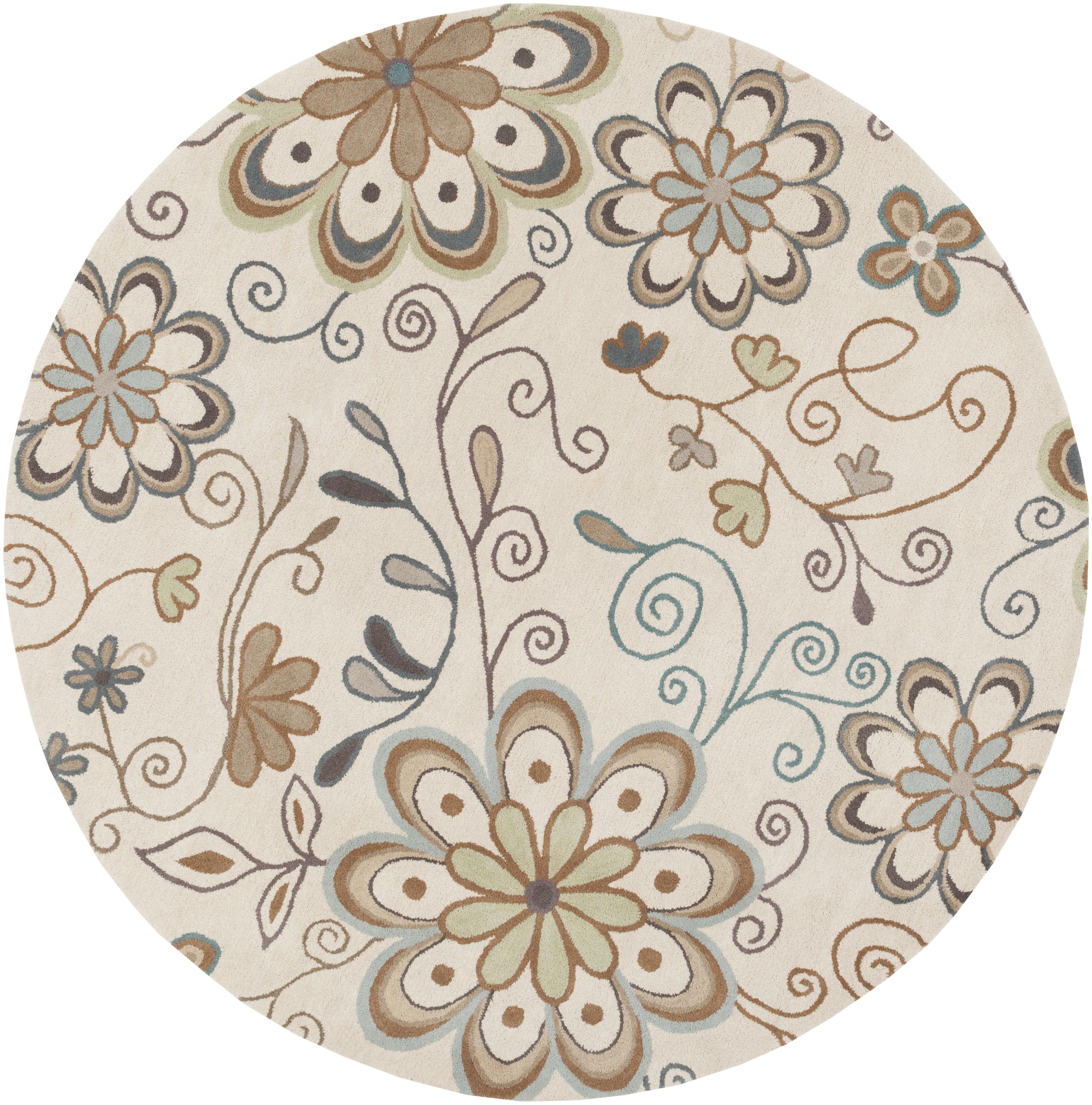 Surya Athena 8' Round - Item Number: ATH5123-8RD
