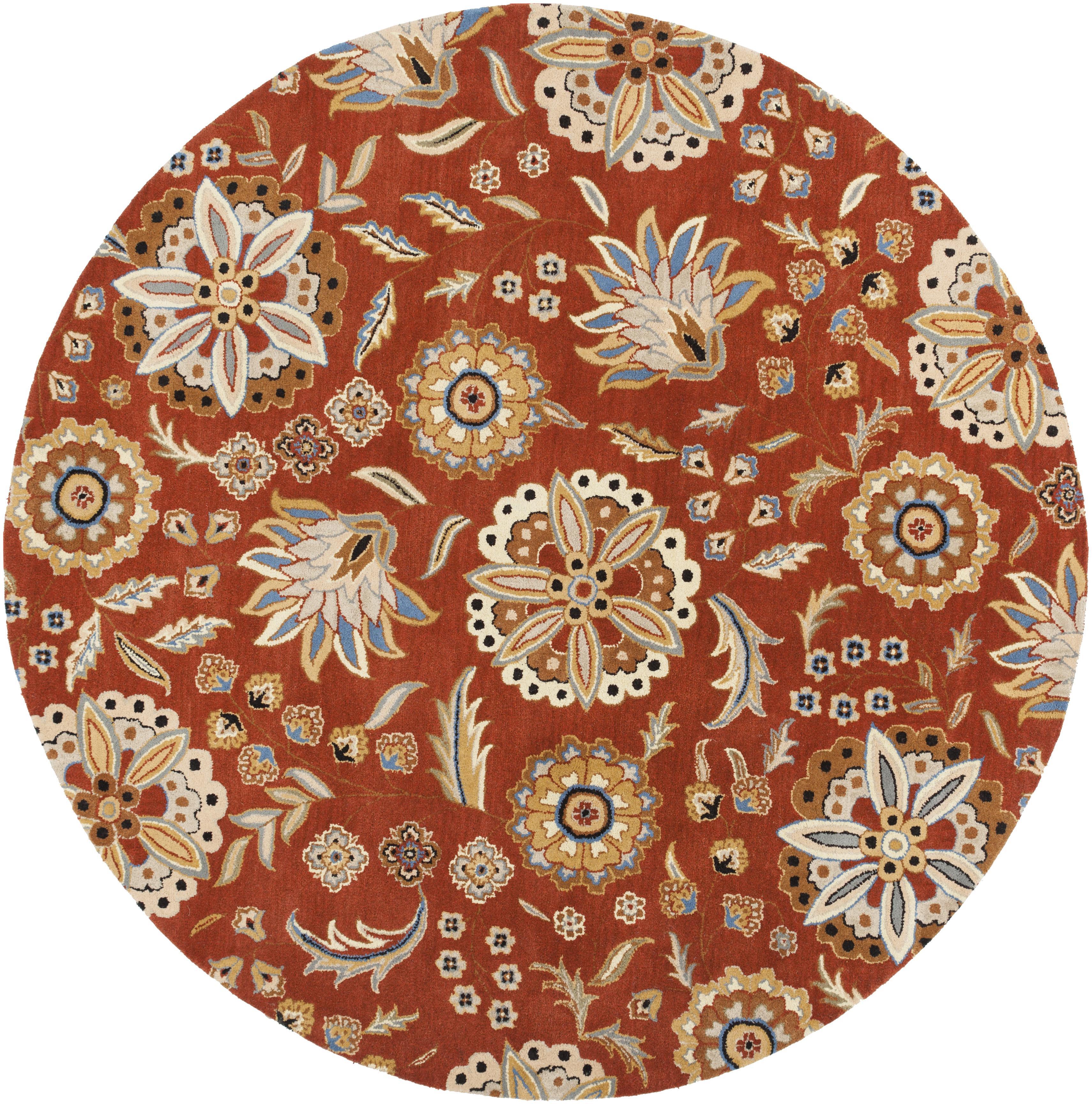 Surya Athena 4' Round - Item Number: ATH5126-4RD
