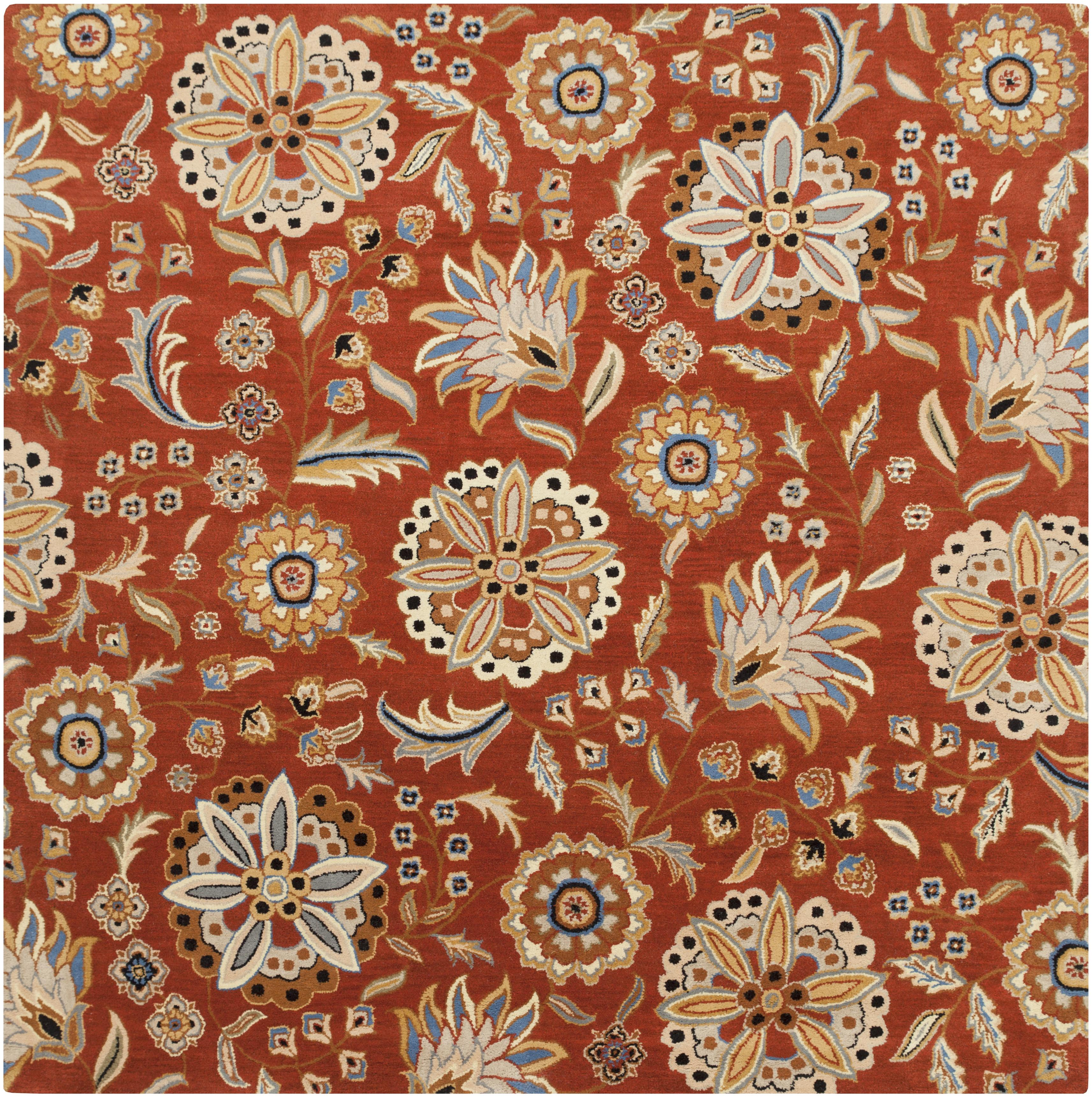 Surya Athena 4' Square - Item Number: ATH5126-4SQ