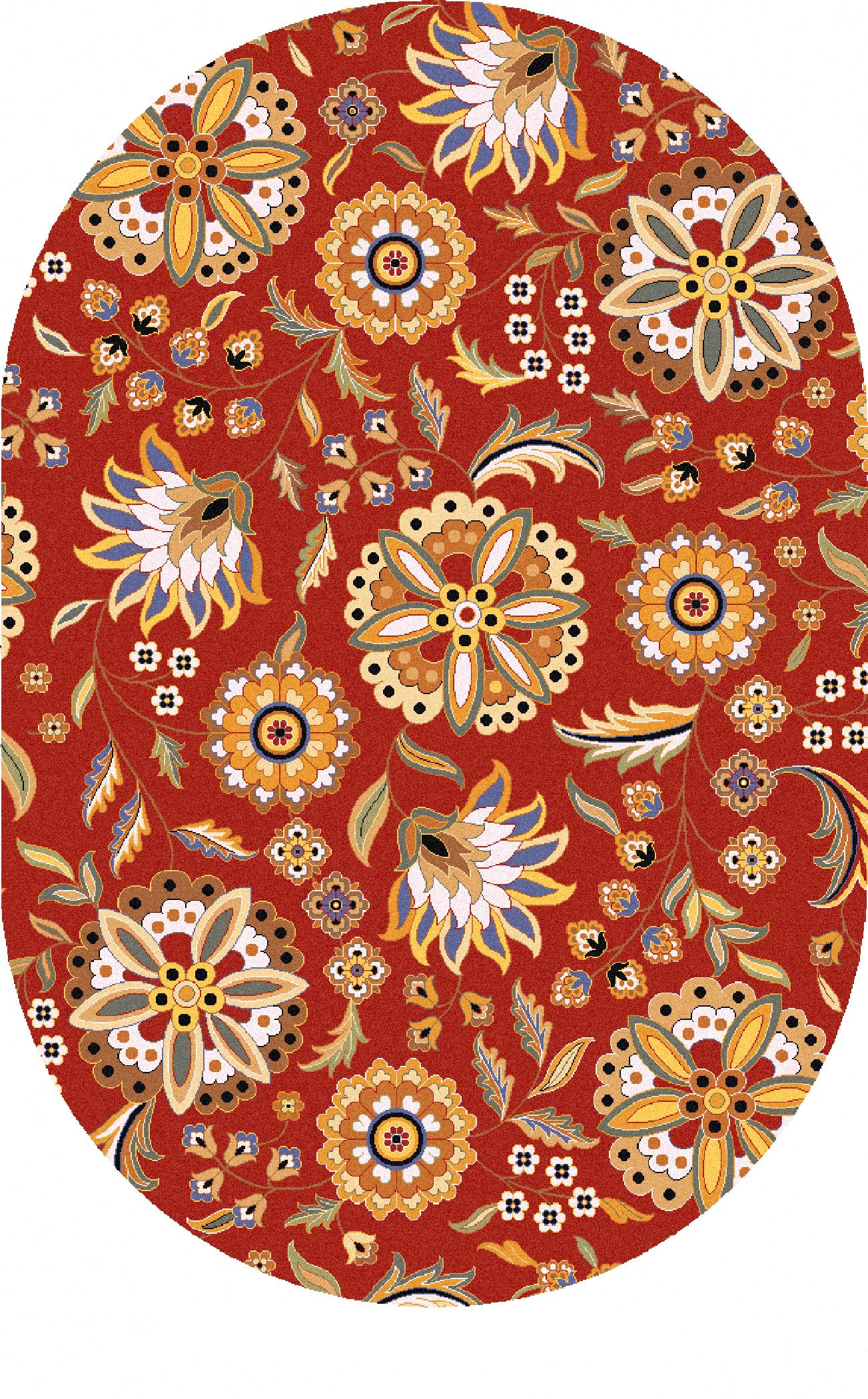 Surya Athena 8' x 10' Oval - Item Number: ATH5126-810OV