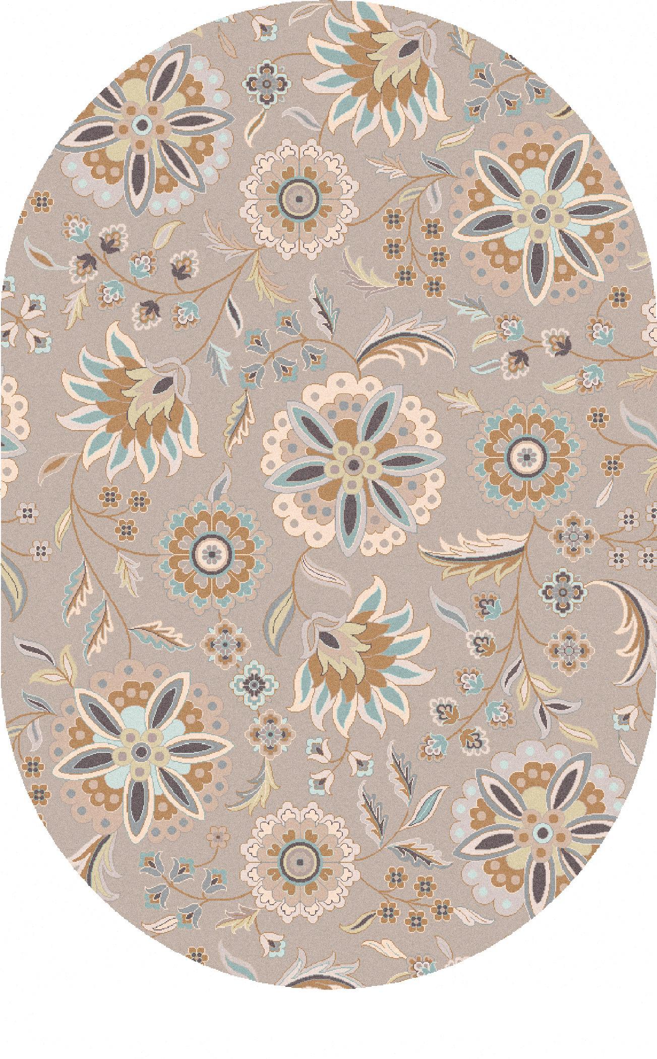 Surya Rugs Athena 8' x 10' Oval - Item Number: ATH5127-810OV