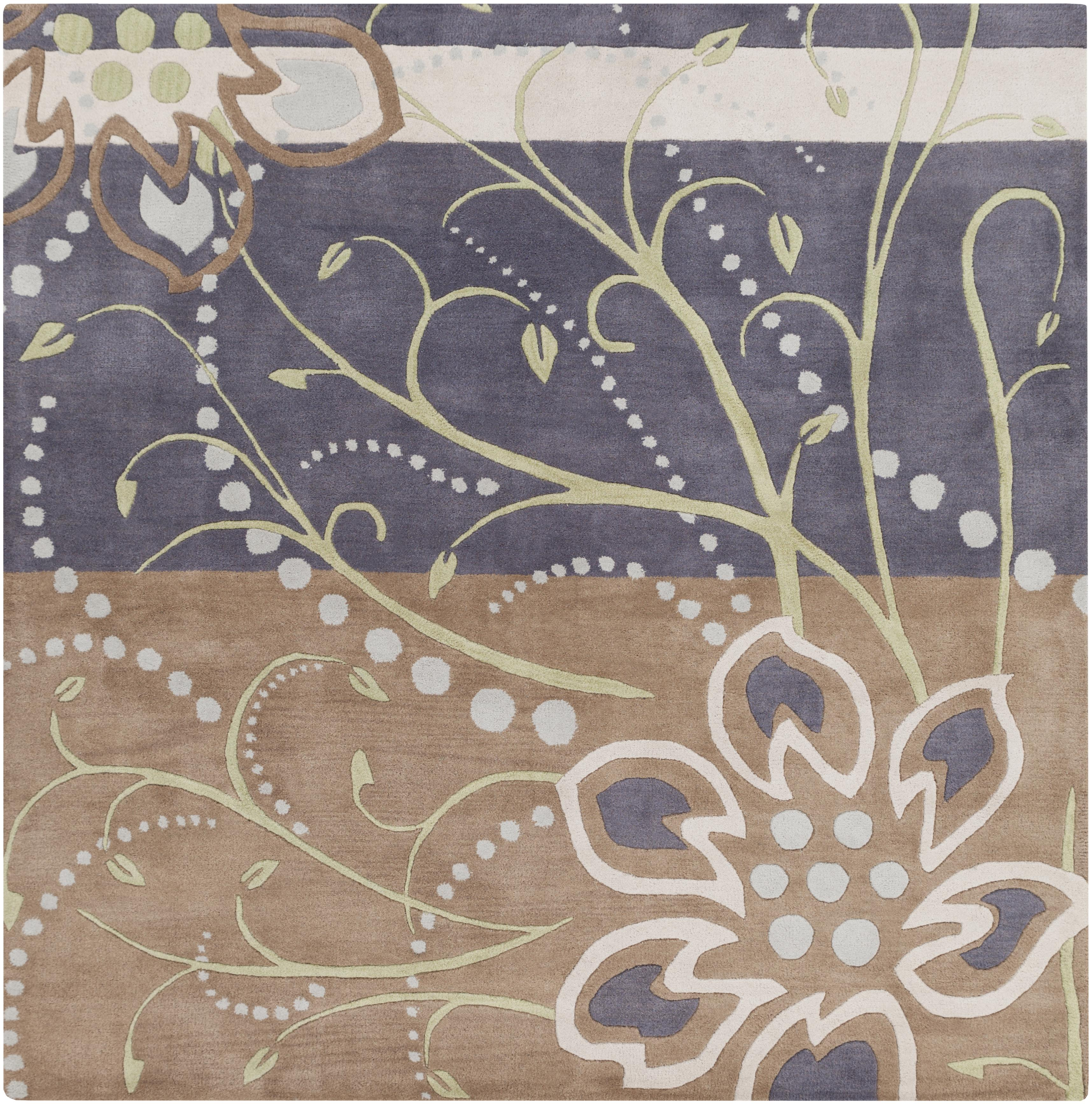 Surya Rugs Athena 4' Square - Item Number: ATH5128-4SQ
