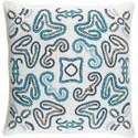 Surya Avana 20 x 20 x 4 Polyester Throw Pillow - Item Number: AVN001-2020P