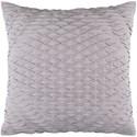 Surya Baker 18 x 18 x 4 Polyester Throw Pillow - Item Number: BK004-1818P