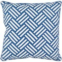 Surya Basketweave 20 x 20 x 4 Polyester Throw Pillow - Item Number: BW001-2020
