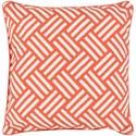 Surya Basketweave 16 x 16 x 4 Polyester Throw Pillow - Item Number: BW004-1616