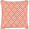 Surya Basketweave 20 x 20 x 4 Polyester Throw Pillow - Item Number: BW004-2020