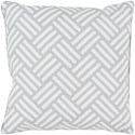 Surya Basketweave 16 x 16 x 4 Polyester Throw Pillow - Item Number: BW005-1616