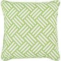 Surya Basketweave 20 x 20 x 4 Polyester Throw Pillow - Item Number: BW006-2020