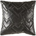 Surya Bedford 18 x 18 x 4 Down Throw Pillow - Item Number: BEF001-1818D