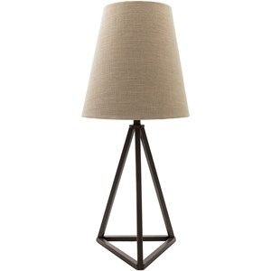 Painted Industrial Table Lamp