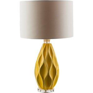 Yellow Modern Table Lamp