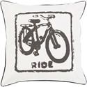 Surya Big Kid Blocks 18 x 18 x 4 Down Throw Pillow - Item Number: BKB019-1818D