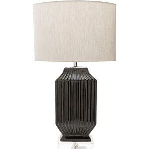 Glazed Glam Table Lamp