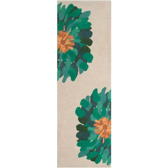 "Surya Rugs Bombay 2'6"" x 8' - Item Number: BST530-268"
