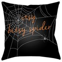 Surya Boo 18 x 18 x 4 Polyester Throw Pillow - Item Number: BOO111-1818