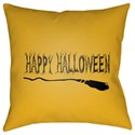 Surya Boo 18 x 18 x 4 Polyester Throw Pillow - Item Number: BOO121-1818